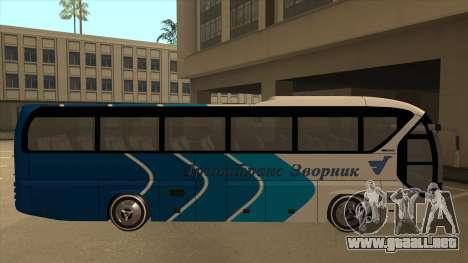 Neoplan Tourliner - Drinatrans Zvornik para GTA San Andreas vista posterior izquierda