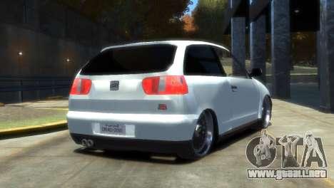 Seat Ibiza para GTA 4 left