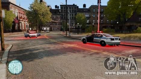 Sin policía guiones para GTA 4 segundos de pantalla