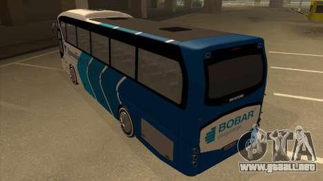 Neoplan Tourliner - Drinatrans Zvornik para GTA San Andreas vista hacia atrás