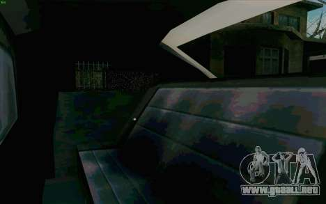 Manana Hatchback para vista lateral GTA San Andreas