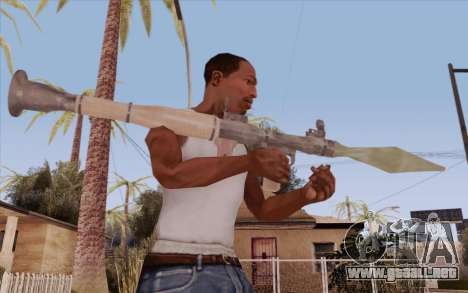 RPG para GTA San Andreas tercera pantalla