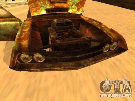 Ford Torino Rusty para visión interna GTA San Andreas