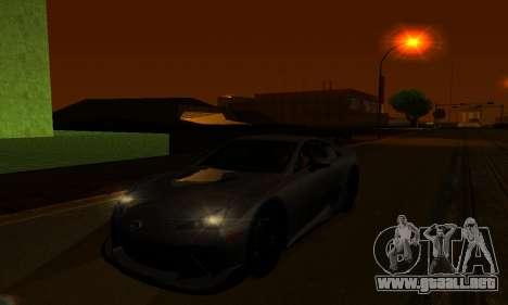 ENBSeries By Avatar para GTA San Andreas sexta pantalla