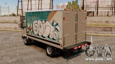 Nuevo graffiti por mula para GTA 4 visión correcta