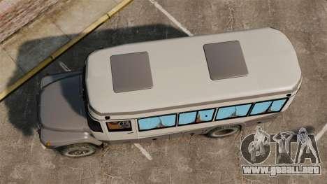 Kavz con hocico Zila para GTA 4 visión correcta