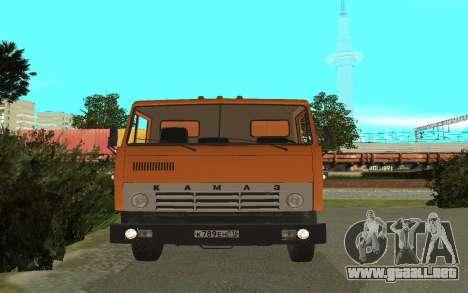 KAMAZ 53212 para la visión correcta GTA San Andreas