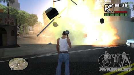ENB para PC de OlliTviks para GTA San Andreas tercera pantalla