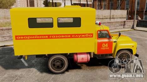 Emergencia Gaz-52 para GTA 4 left
