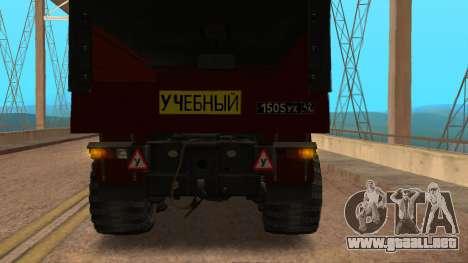 Camión autoescuela v. 2.0 para la visión correcta GTA San Andreas