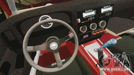 Nissan Frontier D22 para GTA 4 vista lateral