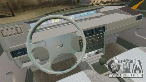 Fiat Tempra TR KeremAkca Edit para GTA 4 vista hacia atrás