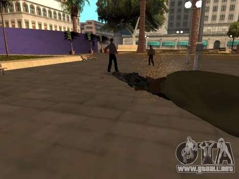WeaponStyles para GTA San Andreas quinta pantalla