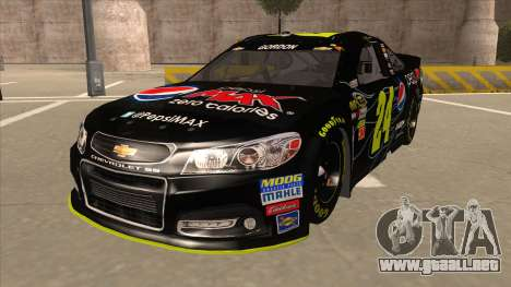 Chevrolet SS NASCAR No. 24 Pepsi Max AARP para GTA San Andreas