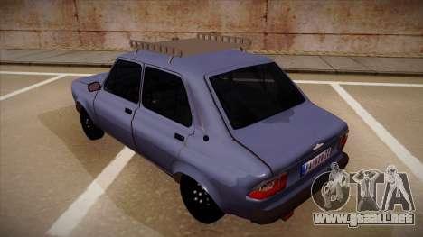 Zastava Skala 55 para GTA San Andreas vista hacia atrás