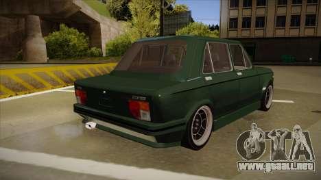 Fiat 128 Europe V Tuned para la visión correcta GTA San Andreas