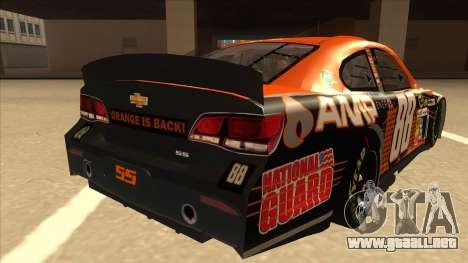 Chevrolet SS NASCAR No. 88 Amp Energy para la visión correcta GTA San Andreas