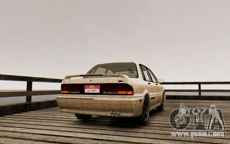 Mitsubishi Galant V2 para GTA 4 left