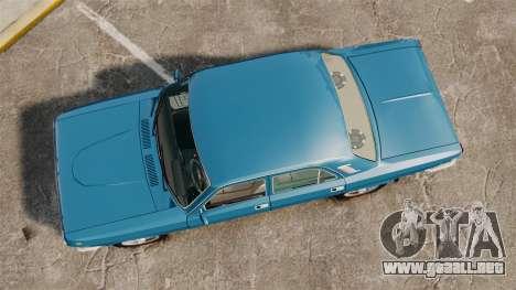 Volga GAZ-2410 v3 para GTA 4 visión correcta