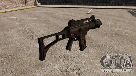 HK G36C asalto rifle v1 para GTA 4 segundos de pantalla