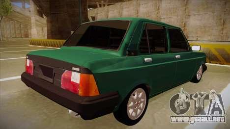 Fiat 128 Super Europa para la visión correcta GTA San Andreas