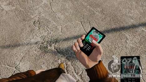 Temas para teléfono Vampire The Masquerade para GTA 4 sexto de pantalla