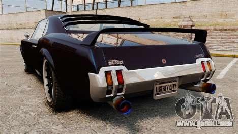 La nueva versión del Sabre GT para GTA 4 left