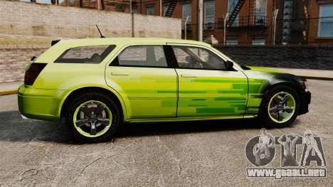 Dodge Magnum West Coast Customs para GTA 4 left