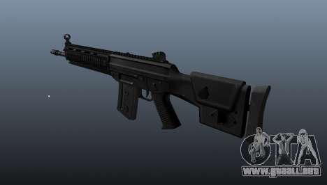 Fusil SIG SG 751 v2 para GTA 4 segundos de pantalla
