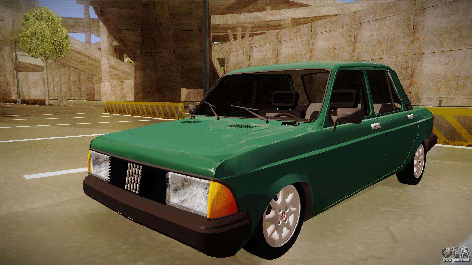 Fiat 128 Super Europa Para Gta San Andreas