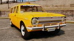 Taxi Volga GAZ-24-02