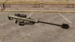 El v8 de rifle de francotirador Barrett M82