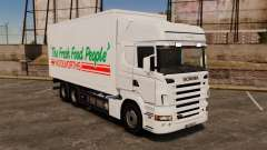 Scania R580 Tandem Woolworths para GTA 4