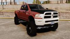 Dodge Ram 2500 Lifted Edition 2011 para GTA 4