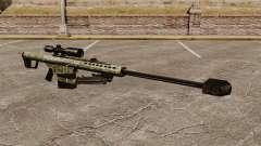El v6 de rifle de francotirador Barrett M82 para GTA 4