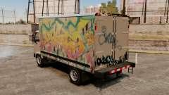 Nuevo graffiti por mula