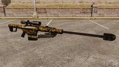 El v12 de rifle de francotirador Barrett M82