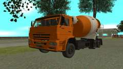 KAMAZ 6520 cemento para GTA San Andreas