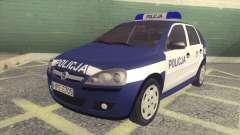 Opel Corsa C Policja