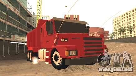 Scania 112HW para GTA San Andreas