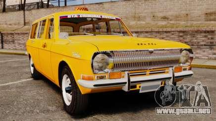 Taxi Volga GAZ-24-02 para GTA 4