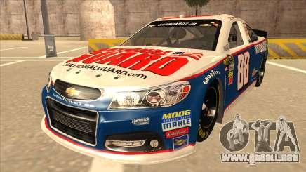 Chevrolet SS NASCAR No. 88 National Guard para GTA San Andreas