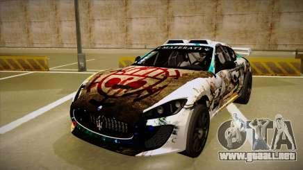 Maserati Gran Turismo MC 2009 para GTA San Andreas