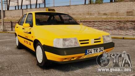Fiat Tempra SX.A Turkish Taxi para GTA 4