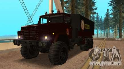 Camión autoescuela v. 2.0 para GTA San Andreas