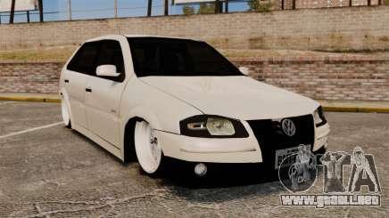 Volkswagen Gol G4 BBS para GTA 4