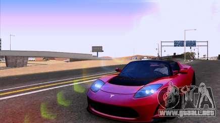Tesla Roadster Sport 2011 para GTA San Andreas