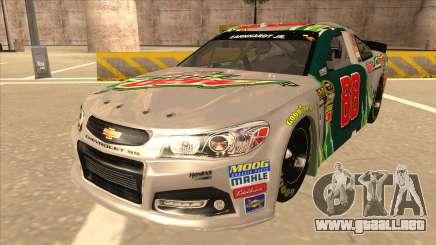 Chevrolet SS NASCAR No. 88 Diet Mountain Dew para GTA San Andreas