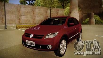 VW Gol Power 1.6 2009 para GTA San Andreas