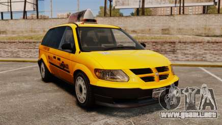 Dodge Grand Caravan 2005 Taxi LC para GTA 4